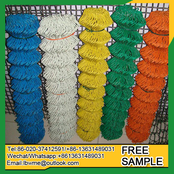 Used chain link fence panels for sale cheap price manufacturer china wire mesh fencing