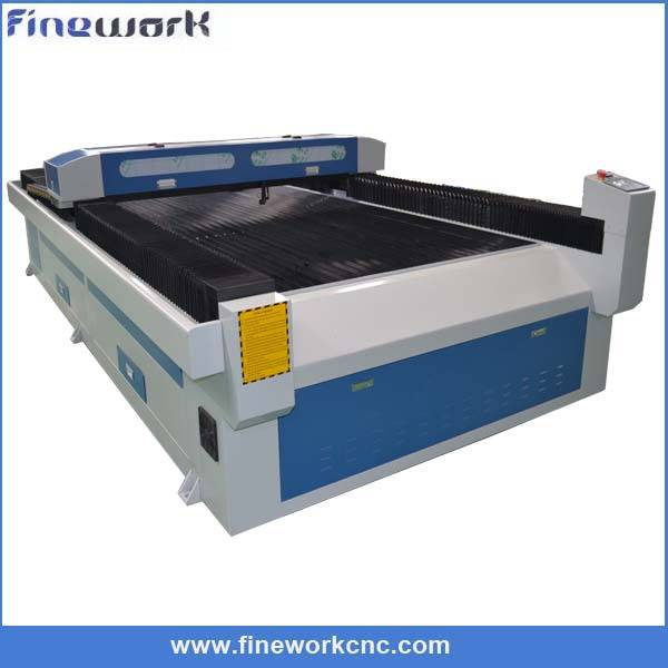 FW 1325 large wood paper laser engraving and cutting machine mat board