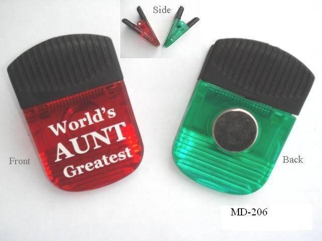 Plastic memo clip (MD-206)