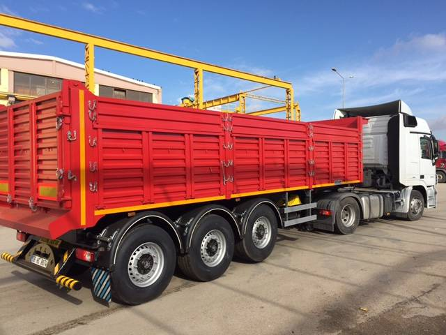 3  AXLES PILOT TYPE DUMPER TRAILER