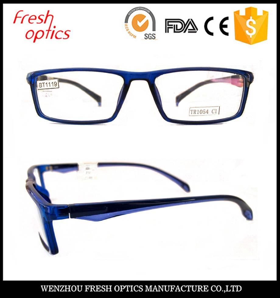 Fashion TR 90 eyeglass frames TR1054 C1