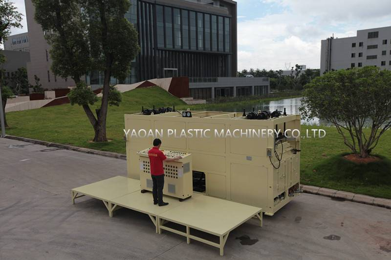 Automatic ABS Luggage Vacuum Thermoforming Machine