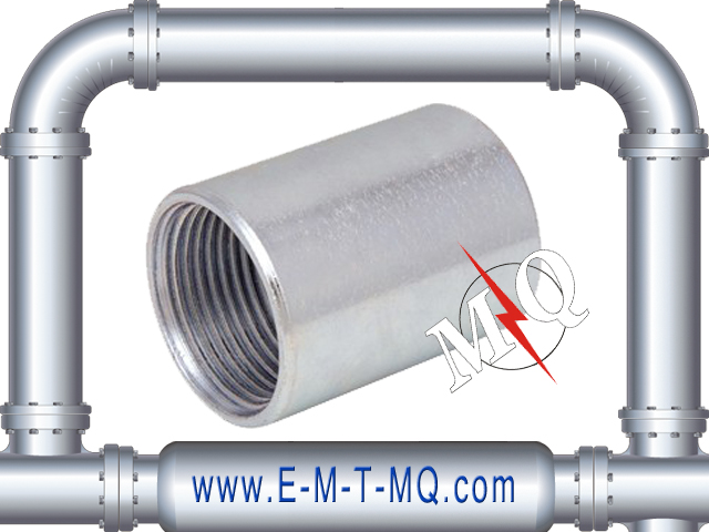 UL Listed ERW Rigid Conduit Coupling for connector