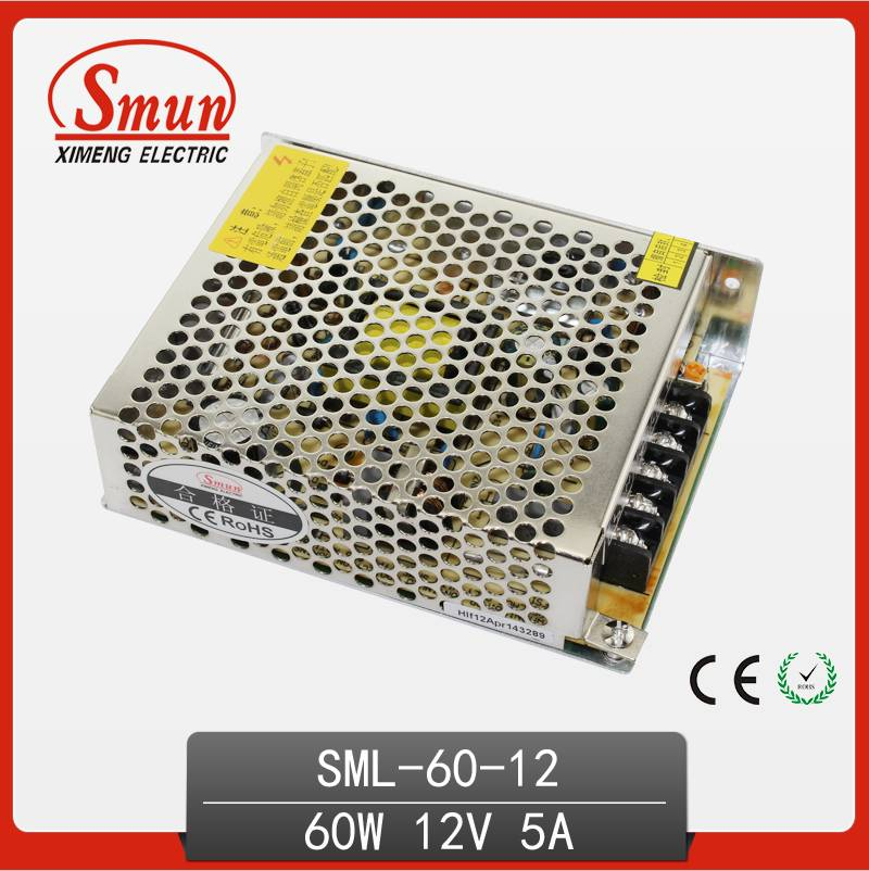 nonwaterproof 220v single output LED switching power supply