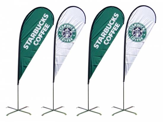 Bow flying banner, flying flags, portable flags