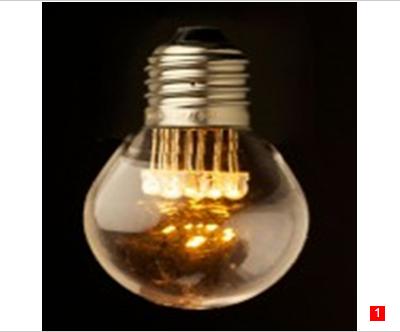 G45 E27 LED Edison bulb