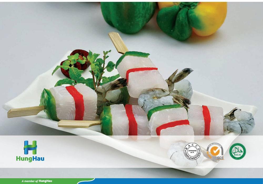 Pangasius and Vegetable Skewer 1