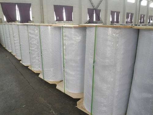 White PVC Core In Roll for producing cards
