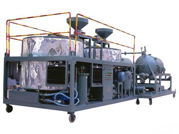 Waste engine oil regeneration technology and equipment
