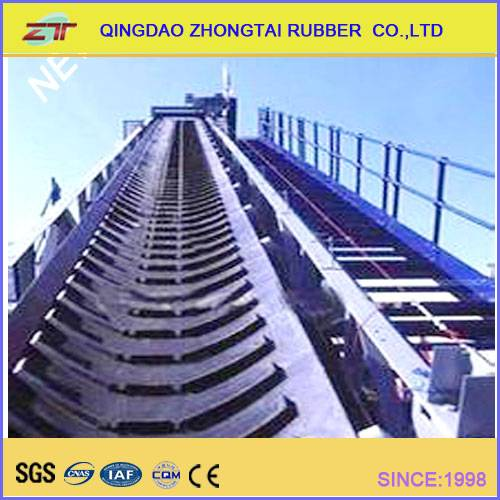 Factory Direct Supplied Chevron Rubber Conveyor Belt