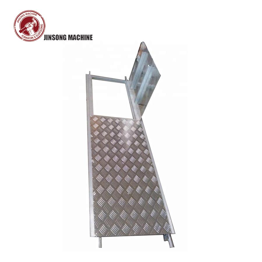 Steel Scaffolding Plank with Trapdoor