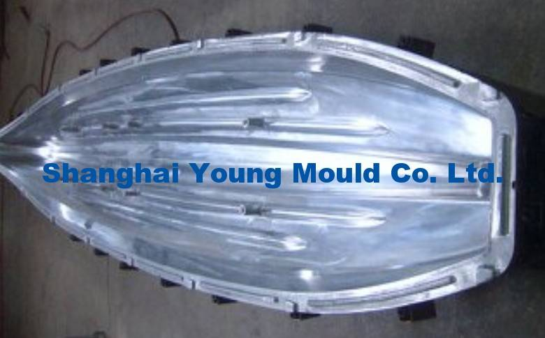 Rotomolding Fishing Kayak Mould, Plastic Kayak Roto Mold for Sale, OEM Rotomolded Canoe/Boat Rotatio