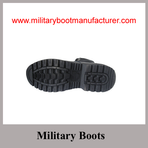 Wholesale China made Military Goodyear Boots with Genuine leather for Army wear