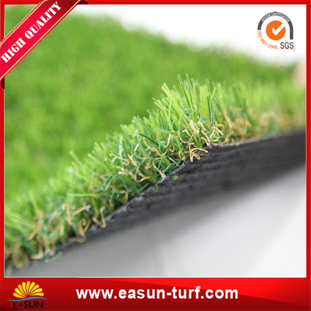 Outdoor Artificial grass carpet for garden cheap Chinese artificial grass- ML