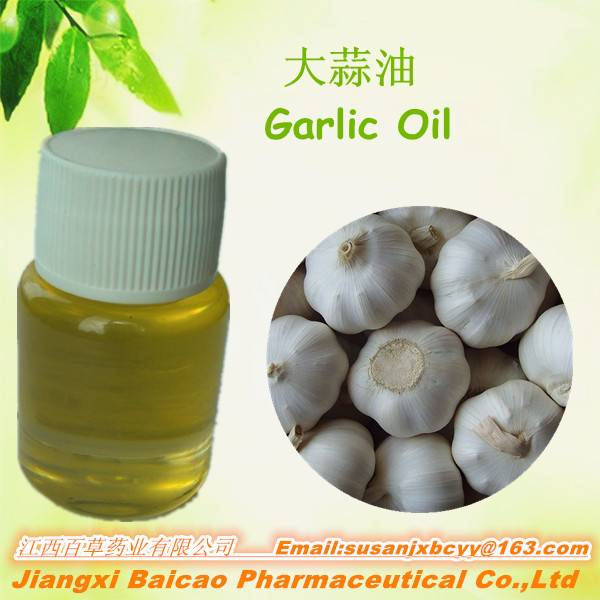 100% natural Garlic oil 99% CAS NO :8000-78-0 100% Pure Natural Garlic Oil