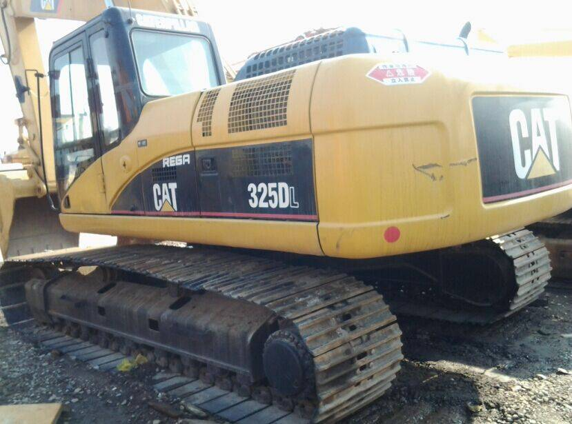 Used Japan Original CAT 325D  Crawler Excavator