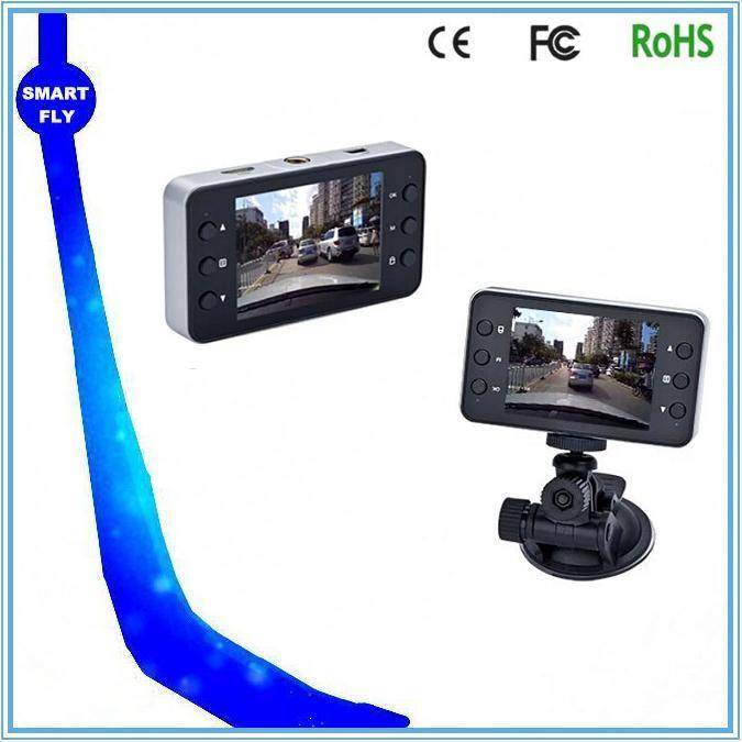 K6000 car recorder 2pcs IR compact design dvr for vehicle
