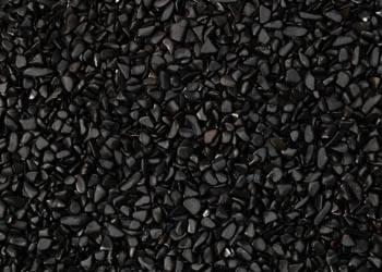Black polished pebbles & Gravels