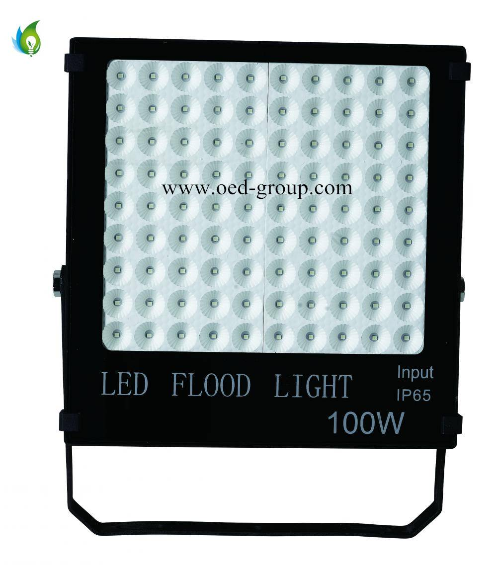 100W High Bay LED Flood Lamp AC85-265V with 2 Years Warranty From China Supplier
