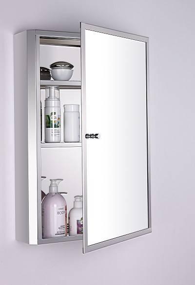 Stainless Steel Mirror Bathroom  Cabinet