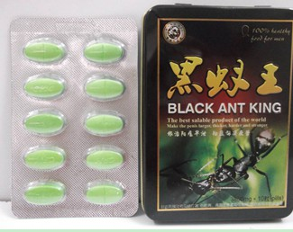 Black Ant King 10pills Tin Sex Pills Sex Products Male Enhancement Herbal Male Drugs