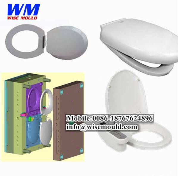 Good quality-Injection mould for toliet seat cover/toliet seat mold in taizhou
