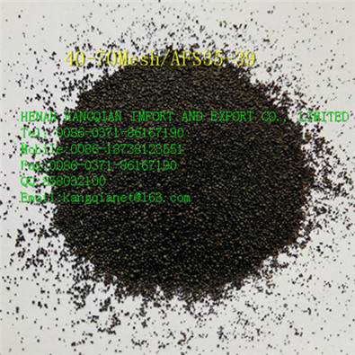 0.106-0.6mm ceramsite sand materail of precoated sand making