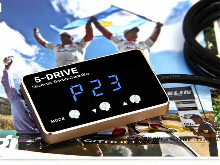 Strong booster car gas pedal commander sprint booster throttle controller instant response speed