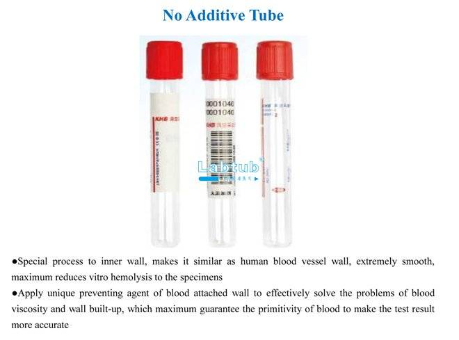 No Additive Tube