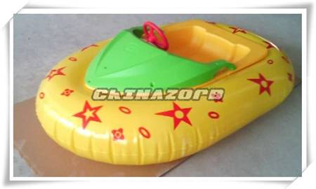 Hot sale inflatable bumper boat children electrical bumper boats for sale