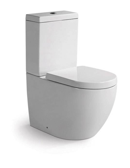 Modern design bathroom procelain two piece toilet KD-T016TP