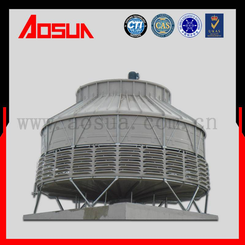 500m3 per hr FRP wet dry cooling tower