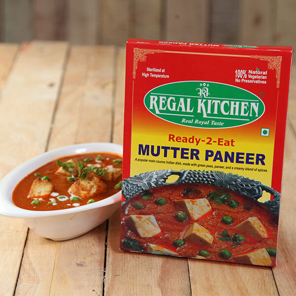 Ready To Eat Matar Paneer
