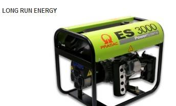 CE approval  portable long run energy gasoline generators 11L fuel tank