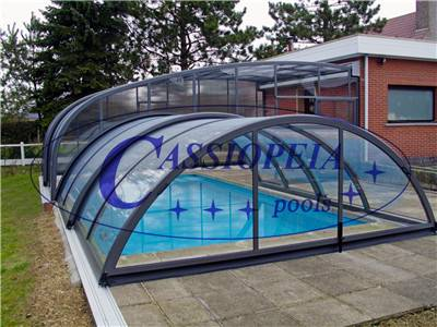 sliding swimming pool cover