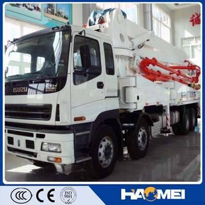China Hydraumatic 48m,52m Concrete Boom Pump