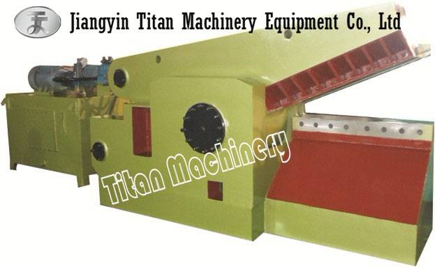 metal scrap shearing cutting machine