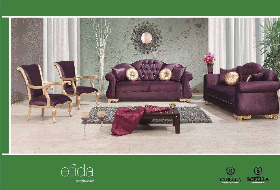Elfida Sofa Set