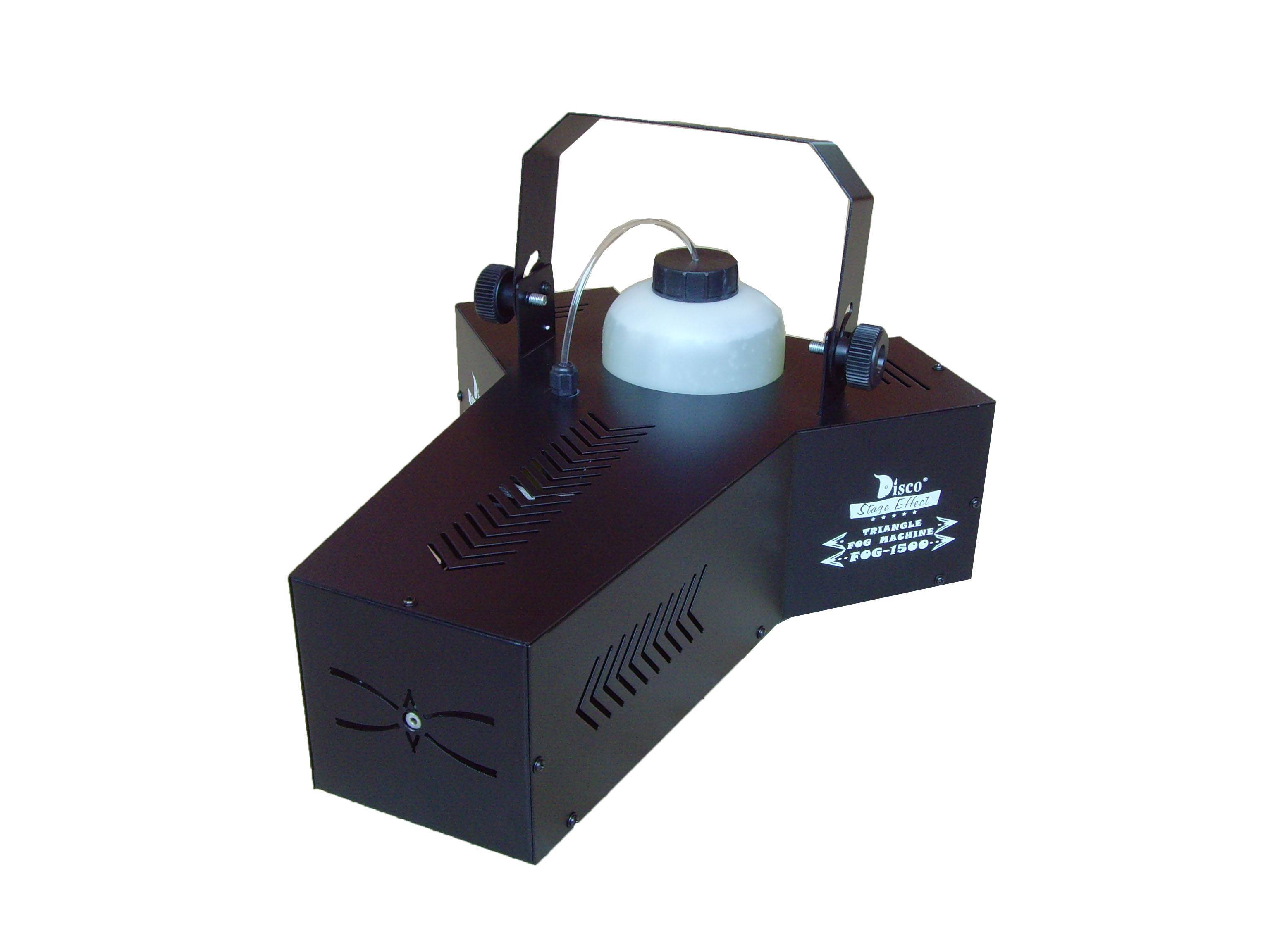 1500W  effect triangular fog  smoke machine