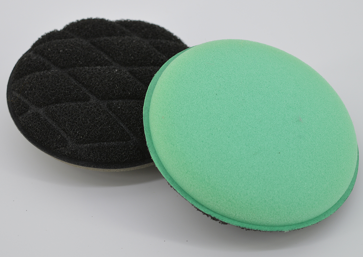 Kitchen Dish Wash Clean Round Multipurpose double functions absorbent Soft Scrub Sponge Pad