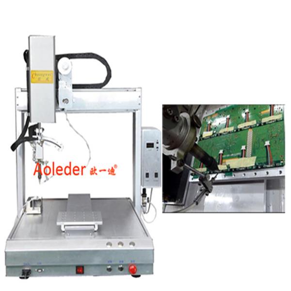 Robortic PCB soldering machine