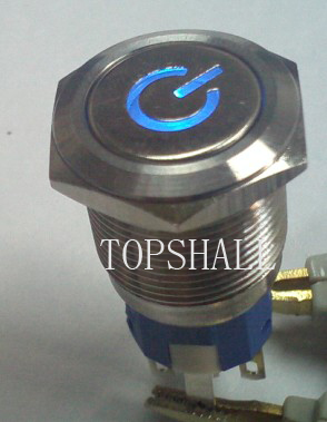19mm vandalproof(anti-vandal) push switch/vandal resistant pushbutton switch