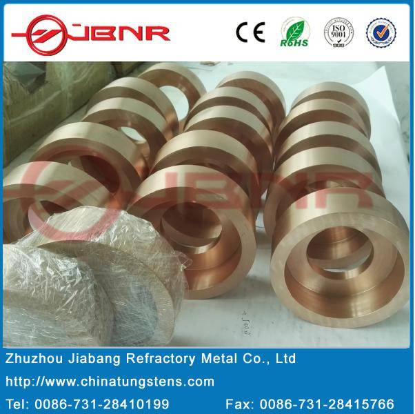 Tungsten Copper Bowl, Copper Tungsten Rotary Electrode for PCD Disk Erosion Machining (elkonite) RWM
