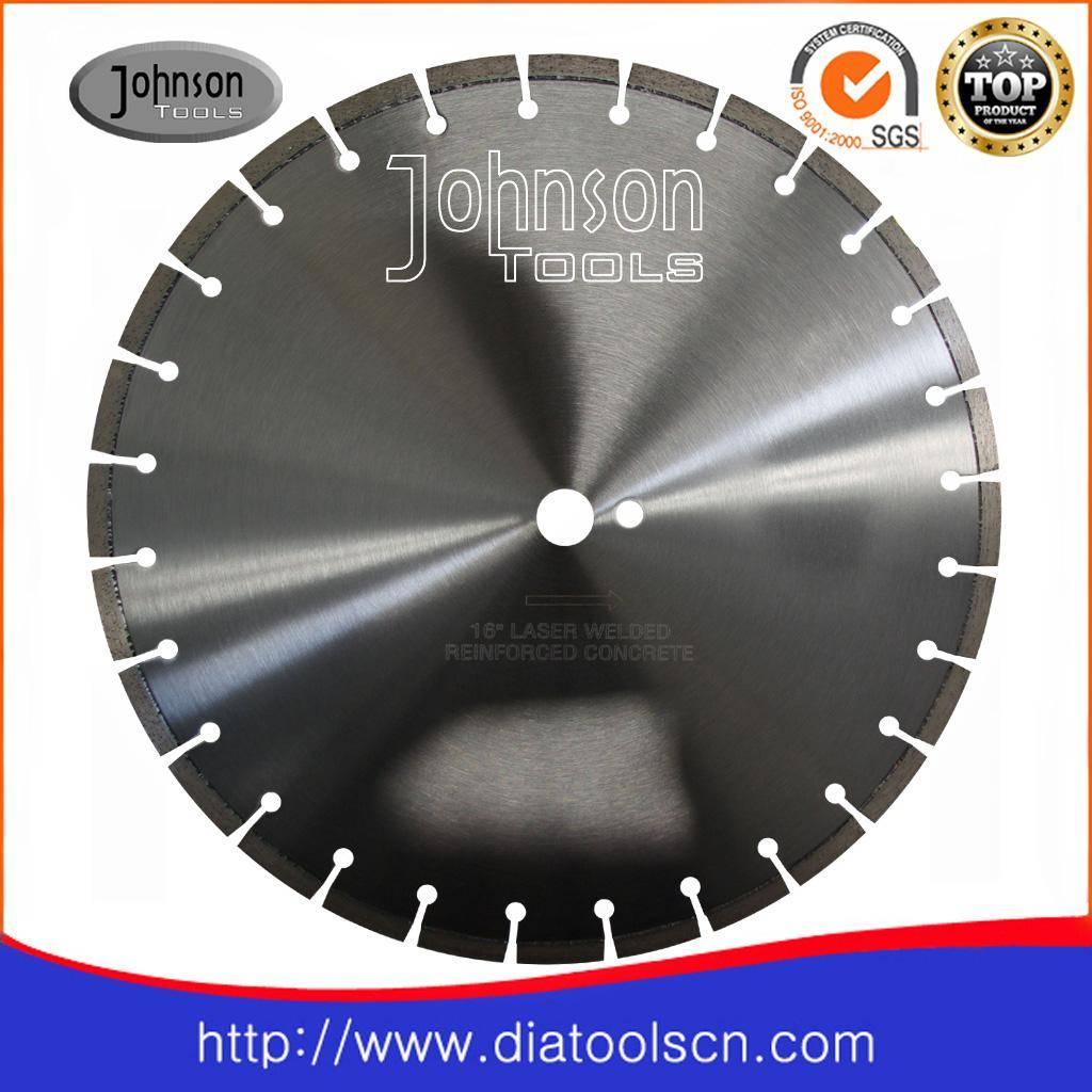 Diamond laser saw blade: 400mm concrete cutting blade