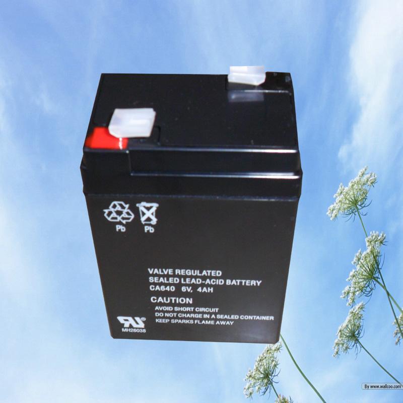 6V4AH Maintenance free VRLA storage battery