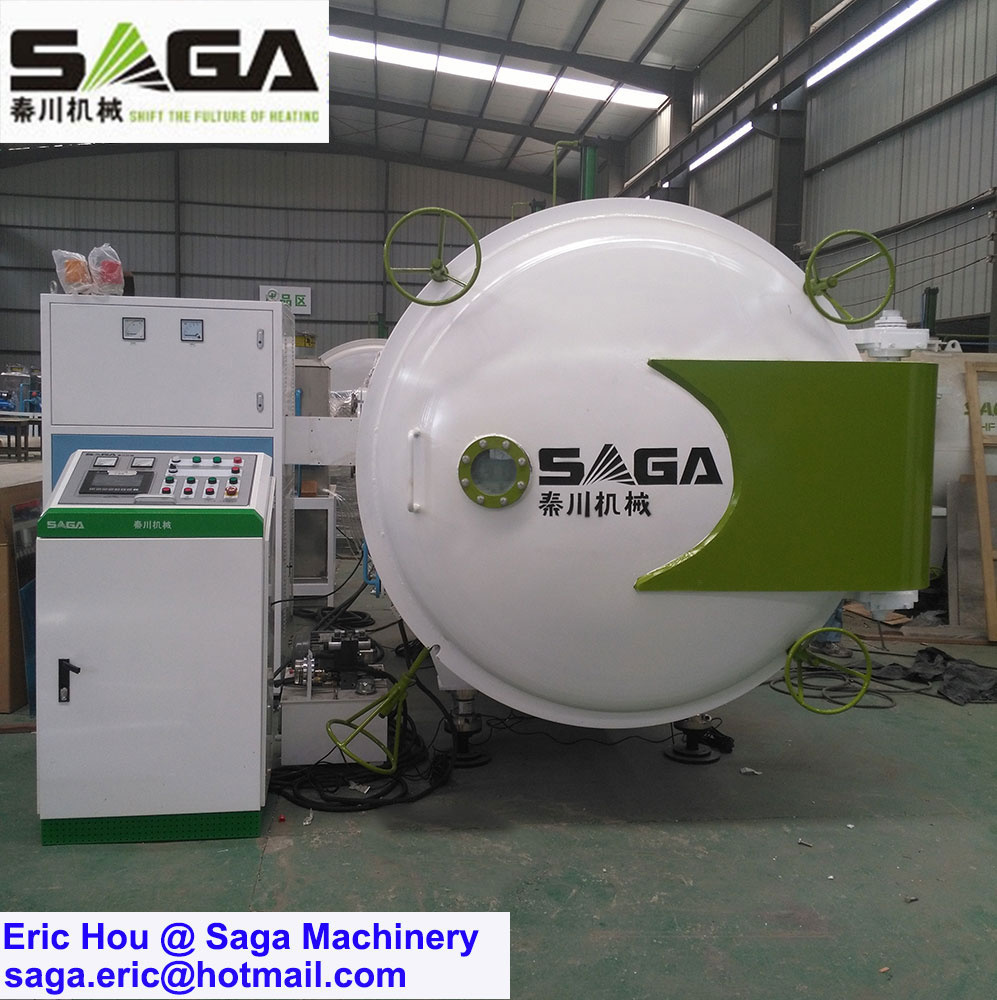High Frequency Vacuum Wood Drying Kiln HF Timber Dryer Machine
