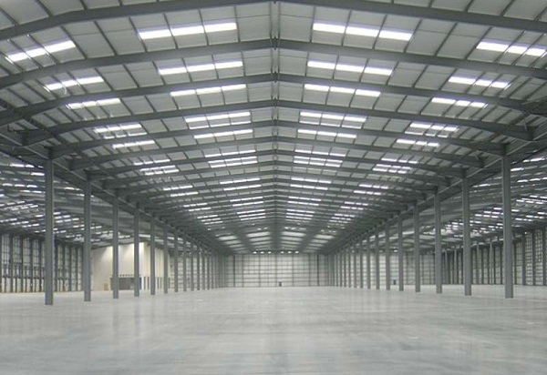 Prefabricated meeting hall with durable steel frame