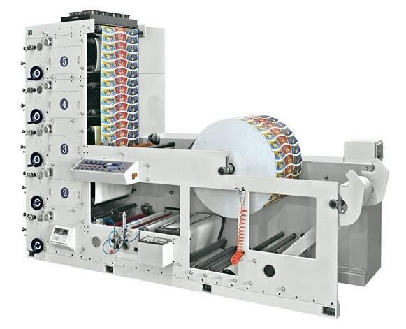 RY-650-5P Paper Cup Printing Machine