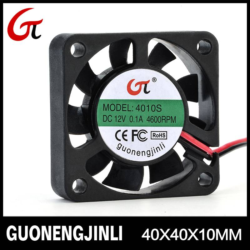 Manufacture selling 12V 4010 dc led cooling fan with high temperature resistant