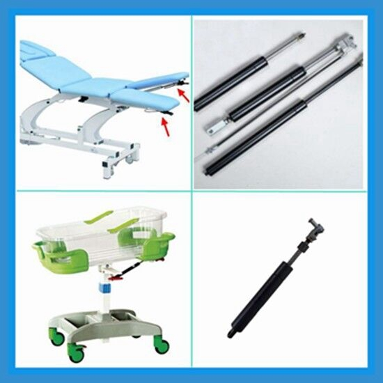 2017China supplier gas spring for hospital bed chair lift adjustable table